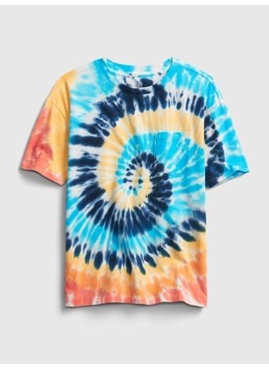 Gap Kısa Kollu Cepli T-Shirt Renkli